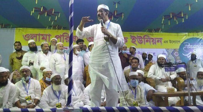 কারও ক্ষমতা থাকলে মসজিদ-মাদরাসায় হাত দিয়ে দেখাক: শামীম